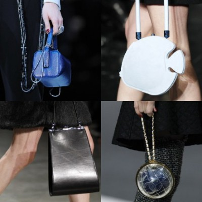 minibags_ as seen at Giorgo Armani, Carven, Chanel and Simone Rocha