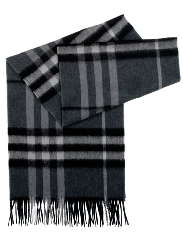 Burberry-Brit-Dark-Charcoal-Icon-Check-Cashmere-Scarf-de_£250_mywadrobe.co.uk
